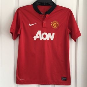 Nike authentic Manchester United V Persie 20 shirt